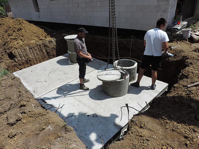 Prevádzka betónovej žumpy
